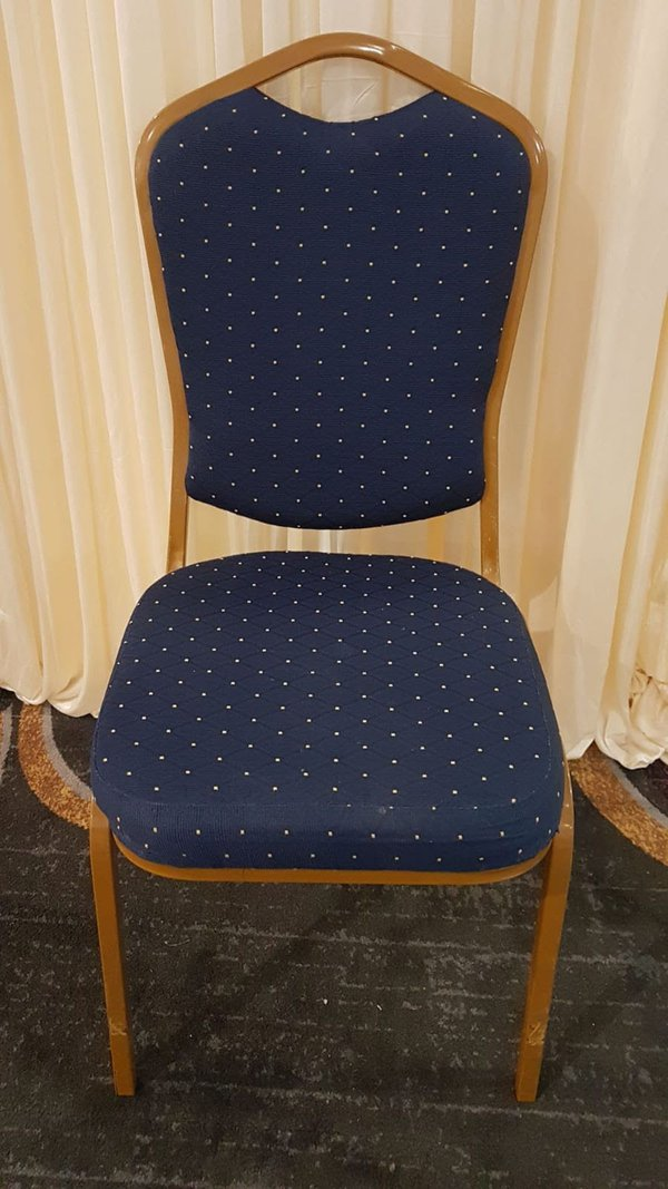 Banqueting chairs with shield back