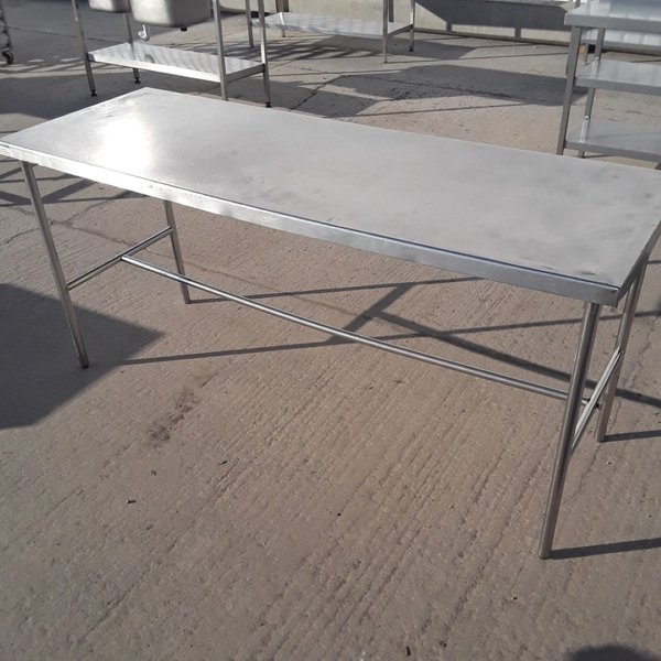 176cm stainless steel table