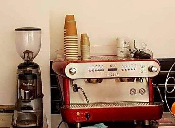 Gaggia Deco 2 Coffee Machine in Red