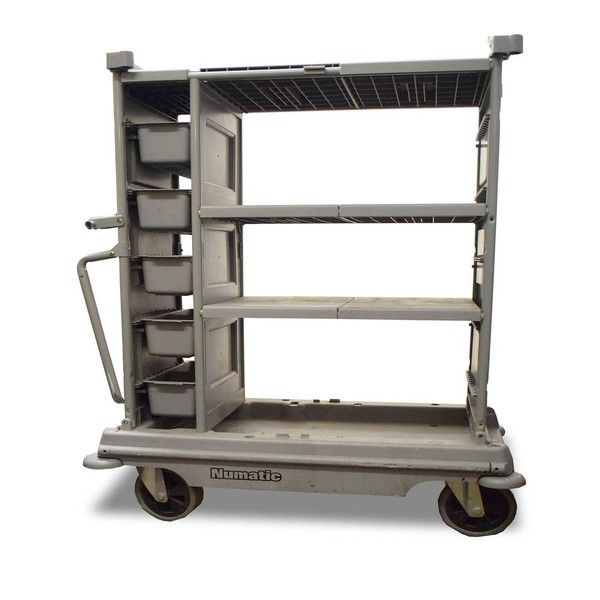 Wheeled house keeping trolley