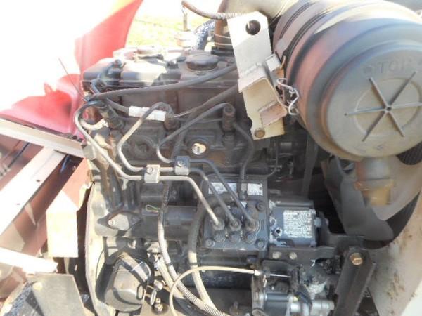 3 cylinder Shibaura engine