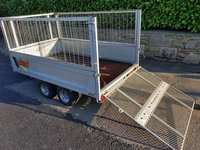 Bateson Trailer with drop down ramp