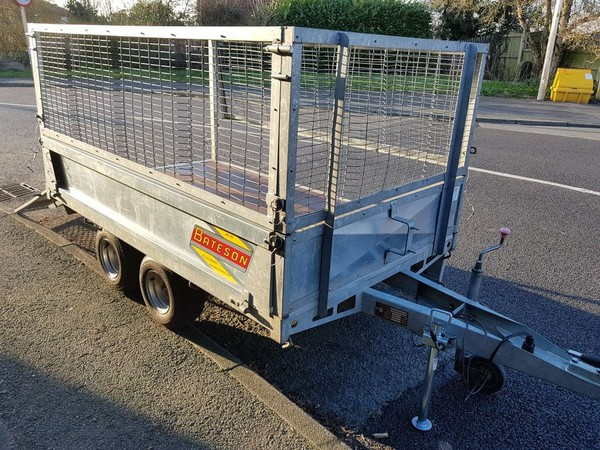 Mesh side trailer for sale