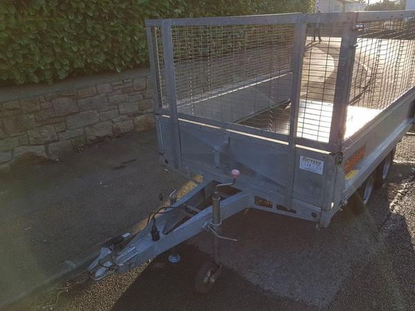 Mesh sided trailer 750kg