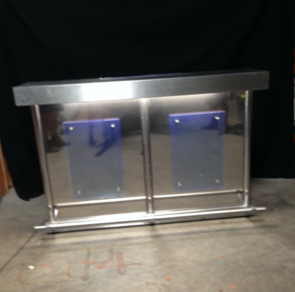 Secondhand mobile bar unit for sale