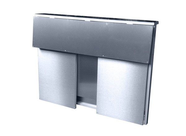 folded bar counter