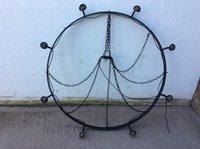 Vintage round chandelier / Candelabra