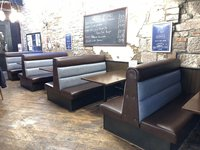 Restaurant booth / bench seating