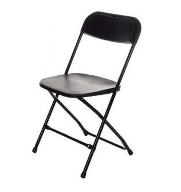 Black Sam Folding Chairs