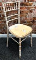 Lime wash Chivari / Chiavari chairs