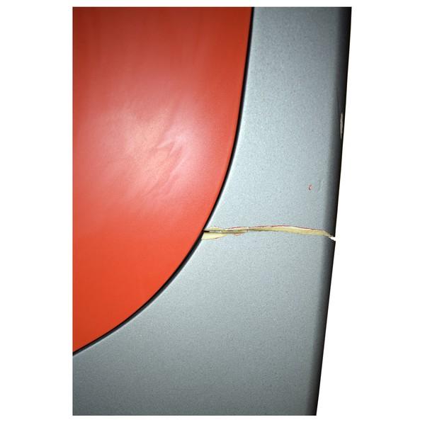 Curved plastic trim