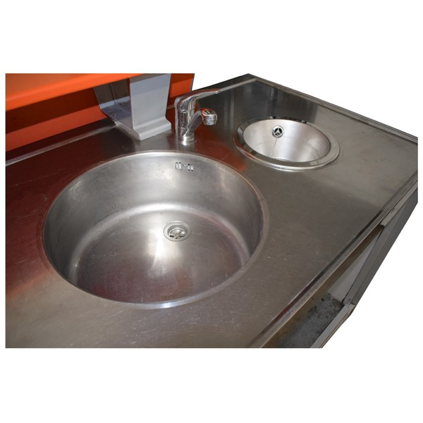 Large and small hand sink