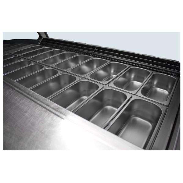 Water cooled Ice cream fridge
