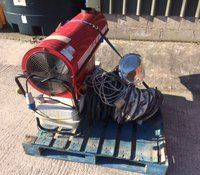 EC40 Diesel space heater for sale