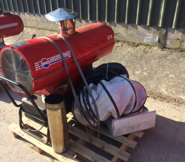 Arcotherm EC55 - 51kW Indirect Oil Fired Heater