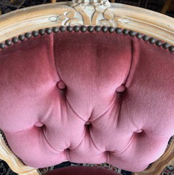 Pink Upholstered Chairs