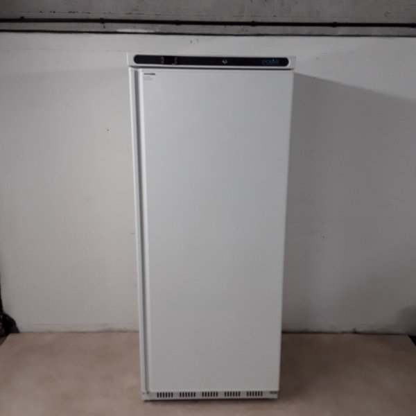 New B Grade Polar CD615 White Upright Freezer.