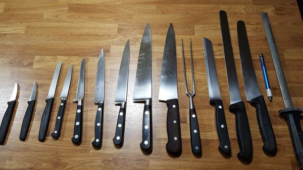 Set of Chef's Knives