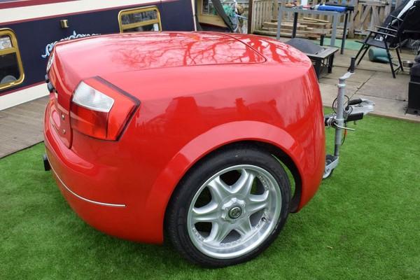 Audi TT car trailer