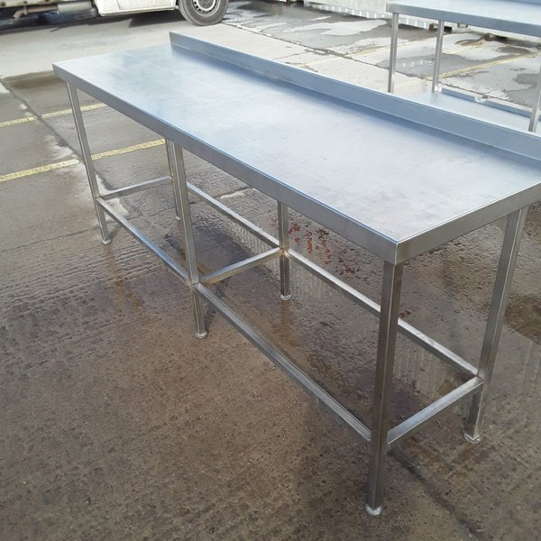 Used Stainless Steel Table (8350)