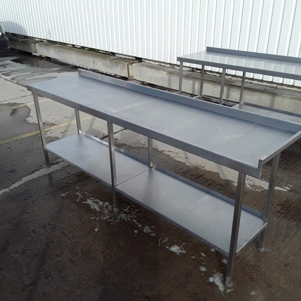 Used   Stainless Steel Table	(8349)