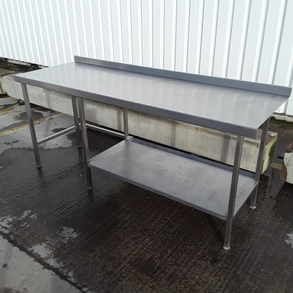 Used Stainless Steel Table (8348)