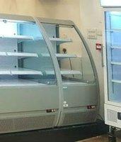Low height multi deck fridges