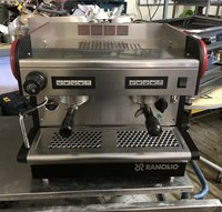 Second Hand Rancilio S20 Compact 2 Group Espresso Machine Commercial Coffee Machine