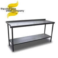 1.9m stainless steel table for sale
