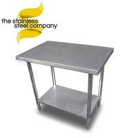 90cm stainless steel table for sale