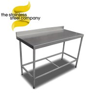 Stainless steel table 1.3m