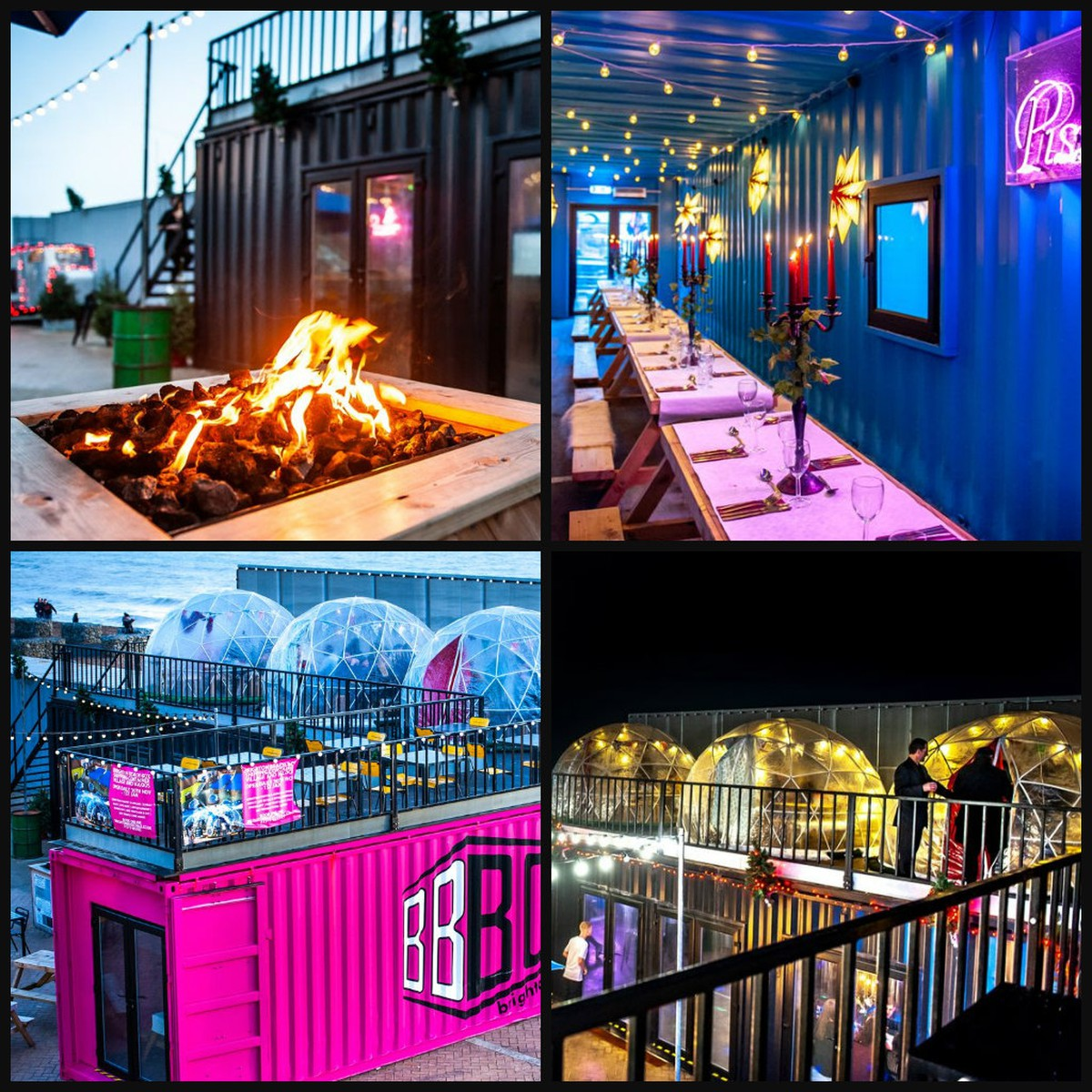 Secondhand Portable Buildings Canteens And Cafes Huge Shipping Container Restaurant With Roof Terrace Liverpool Merseyside