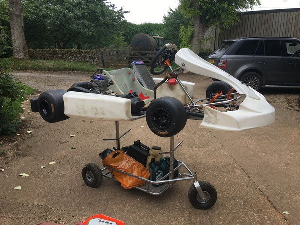 125cc Racing Go Kart with extras
