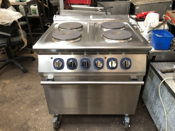 Electrolux Four Plate Electric Oven Range