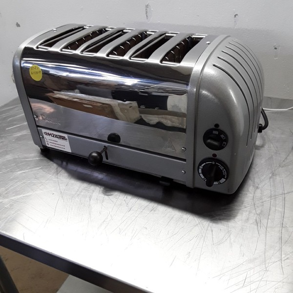 Used Dualit CD388 6 Slot Bun Toaster (8373)