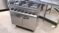 Six burner gas oven for sale