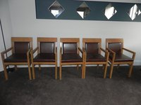 Five dining chairs for sale