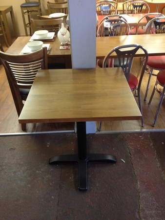 10x Single Pedestals For Table Tops - London 2