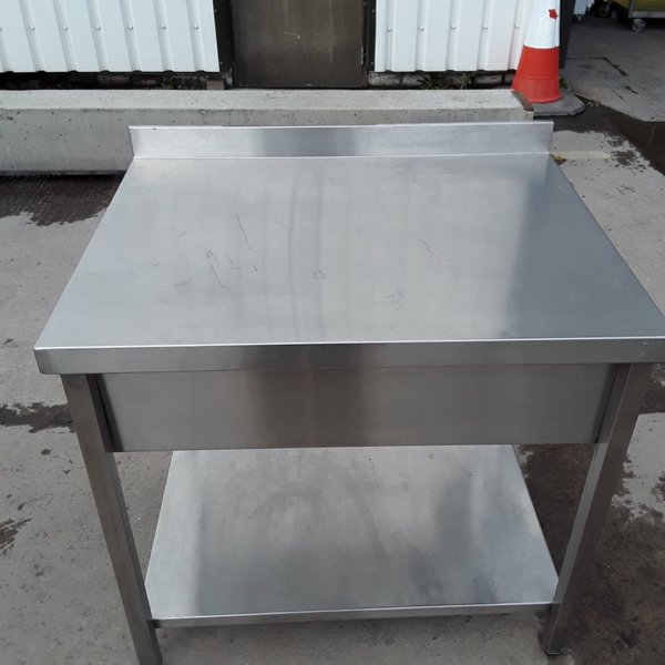 890mm stainless steel table