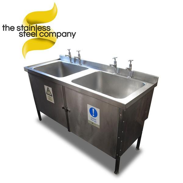 1.5m Double Sink