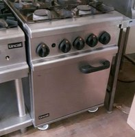 Natural gas range cooker 4 burner