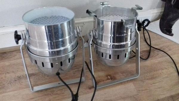DMX / LED par cans