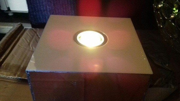 Colour changing LED lights