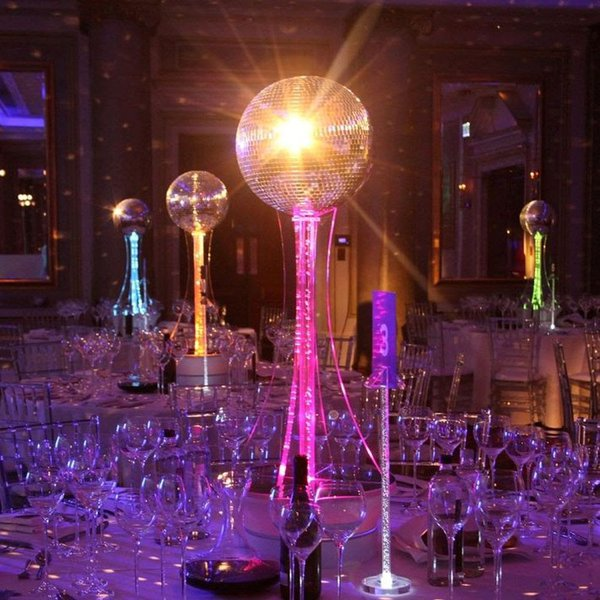 Mirror ball table centre