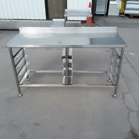 Used Stainless Steel Table (8418)