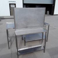 Used Stainless Steel Table (8416)