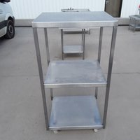 Used  Stainless Steel Stand	(8413)