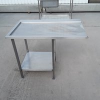 Used Stainless Steel Dishwasher Table (8412)
