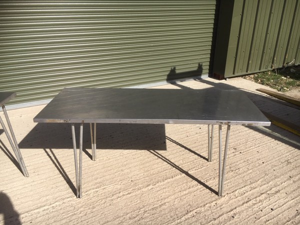 Stainless Steel Folding Table