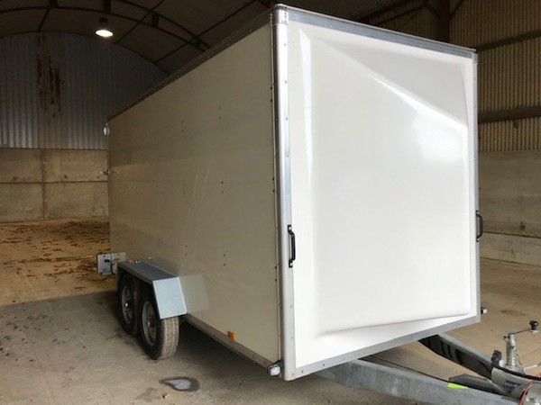 3.5T box trailers for sale